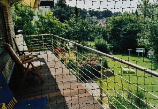 balkon schutznetz f r katzen. Black Bedroom Furniture Sets. Home Design Ideas